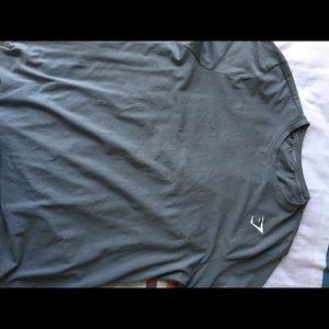 Gymshark shirt with Mesh back. Like New! XL